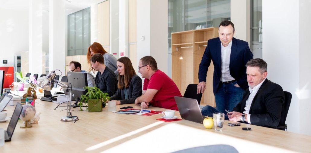 Ceiton Software-Entwicklung in unserem Leipziger Büro.
