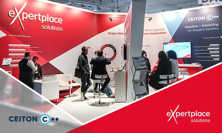 CEITON / expertplace solutions Messestand bei der IBC 2017