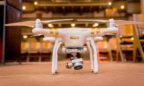 Zu sehen auf der NAB Show in Las Vegas: Drohne mit Filmkameras