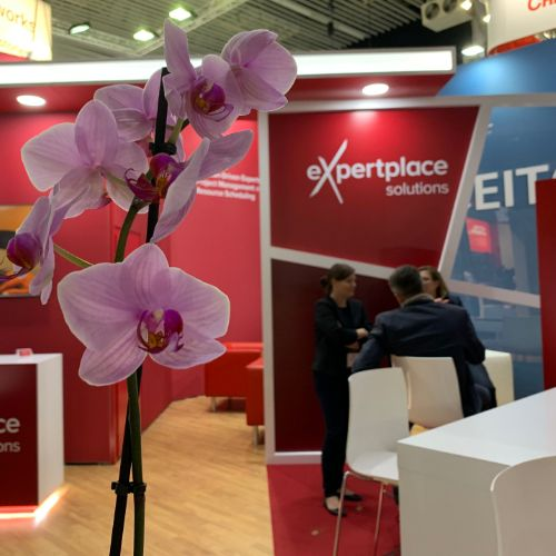 expertplace solutions Messestand IBC 2019