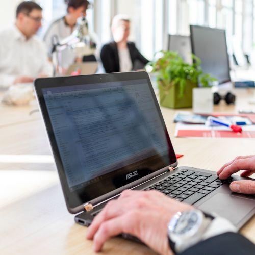 Stellenangebot Entwickler in Medienbranche