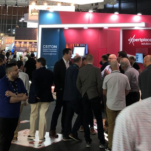 Visitors of the IBC 2019