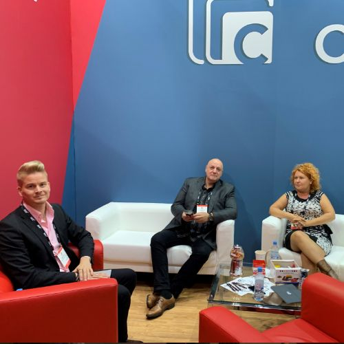 Yle visits us at the IBC