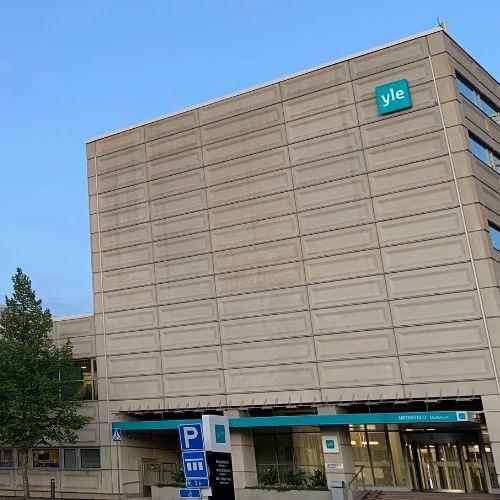 Yle building in Helsinki