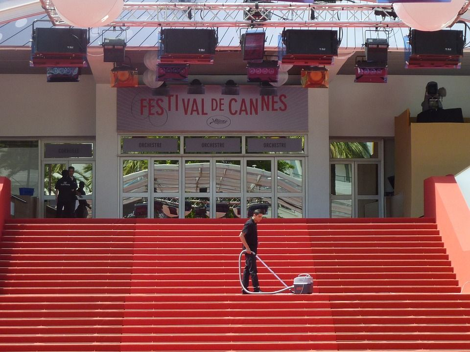 Preparation for Cannes Film Festival