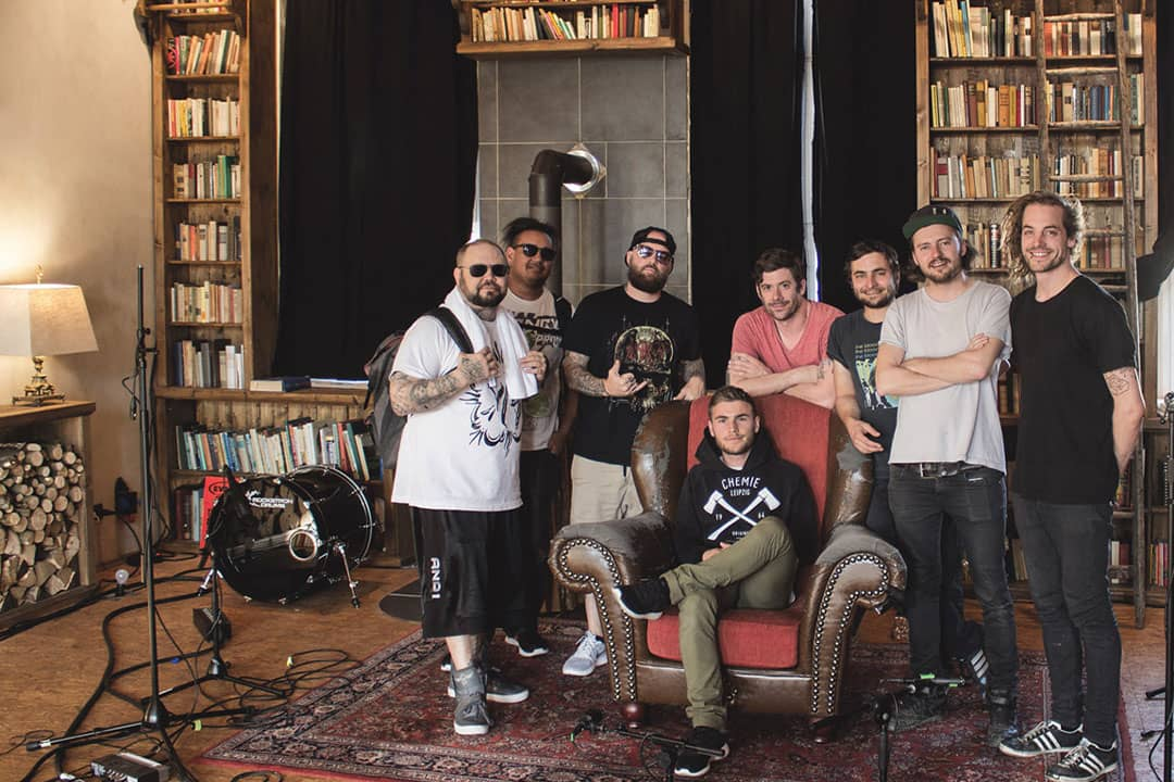 Limp Bizkit in den Off The Road Studios